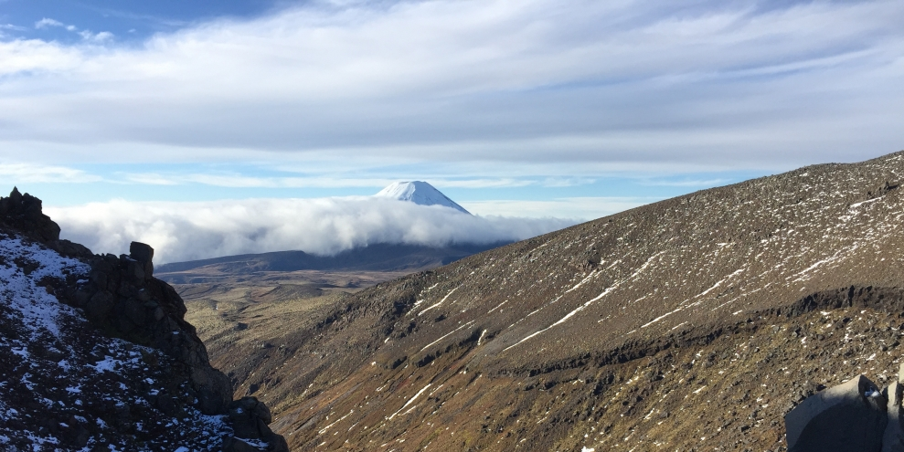 Mount Ngauruhoe, part of the Tongariro Volcanic Complex, otherwise known as Mt Doom.